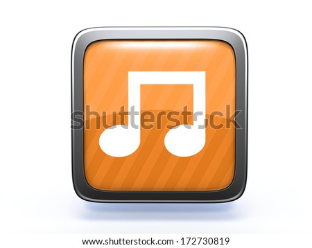 music square icon on white background