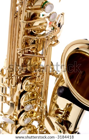 Musical background – instruments. Shot in studio. - stock photo