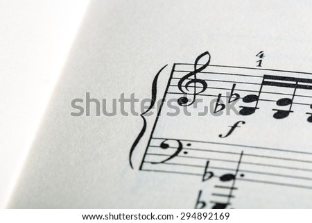 Musical Symbols - stock photo