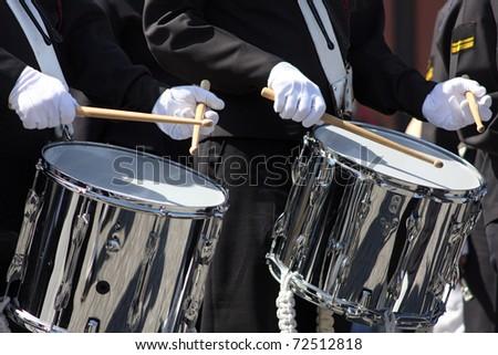 musicians - stock photo
