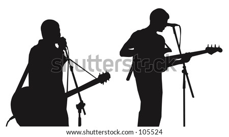 Musicians - silhouettes