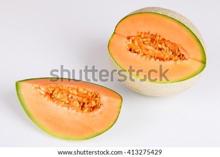 musk melon - stock photo