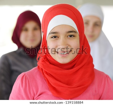 Arab Muslim Girl