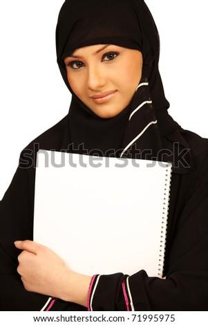 Muslim Student - stock photo