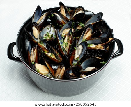 Mussels  - stock photo