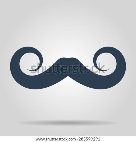 mustaches icon,  - stock photo