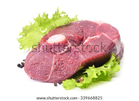 Mutton meat - stock photo