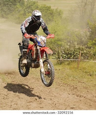 mx rider - stock photo