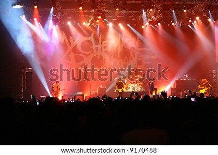 My Chemical Romance Live Concert in Indonesia