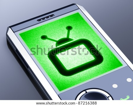 My design of mobile. It is my own design of mobile phone, therefore you can use this picture for commercial purposes.