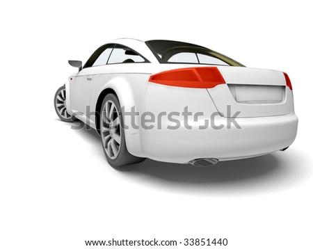 My dream car - stock photo