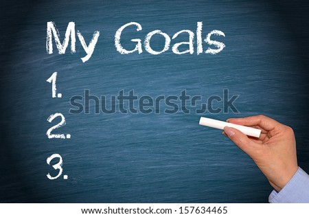 My Goals - stock photo