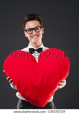 My heart belongs to you - stock photo