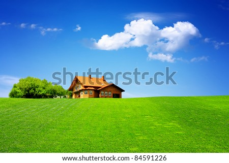 My house - stock photo
