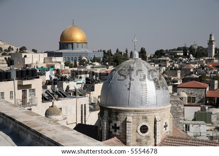 My Jerusalem. - stock photo