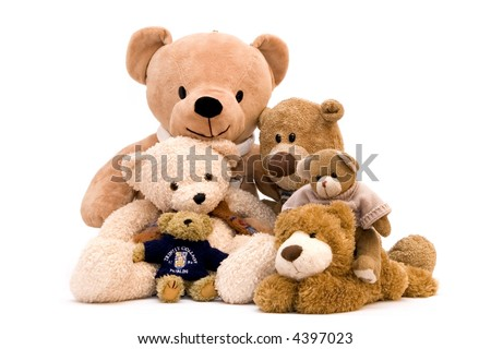 My toy - teddy bear - stock photo