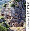 Myra town. Turkey - stock photo