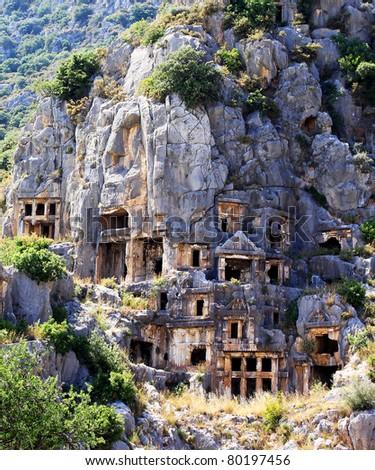 Myra town. Turkey - stock photo