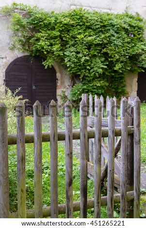Mysterious Garden Stock Photo 451265221 - Shutterstock