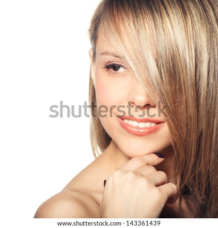 Mystery woman - stock photo