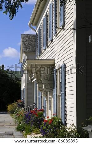 Mystic Seaport, Mystic, Connecticut, USA - stock photo