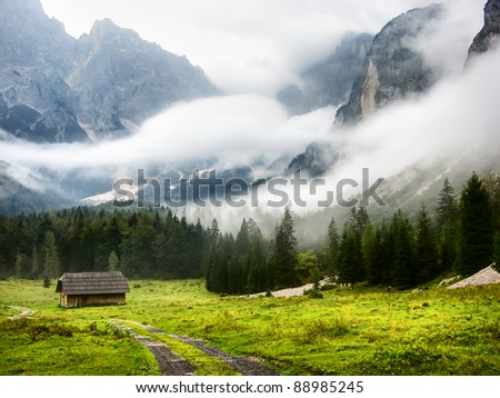 Mystic Valley - stock photo