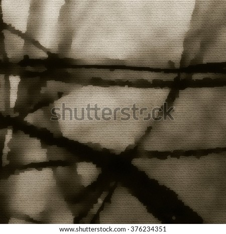 Mystical tree. Abstract branches background.