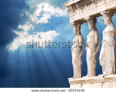 Myth Heaven - stock photo