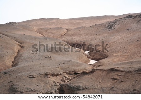 Myvatn in Iceland - stock photo