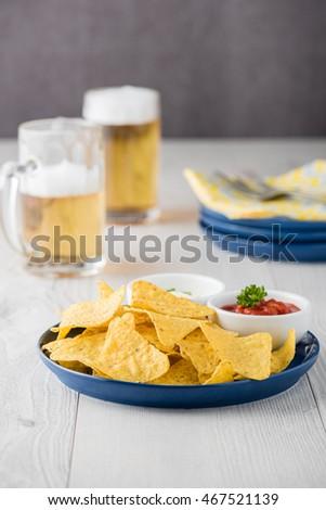 how to make nachos with sour cream