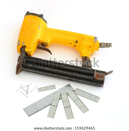 Nail gun - stock photo