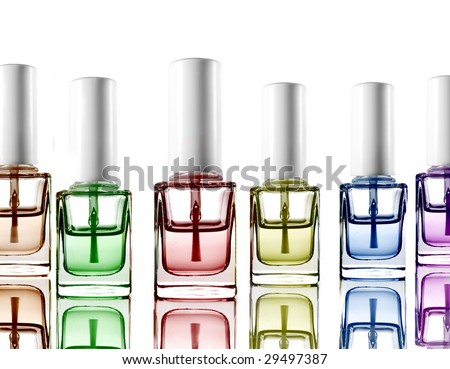 Nail Polish - stock photo
