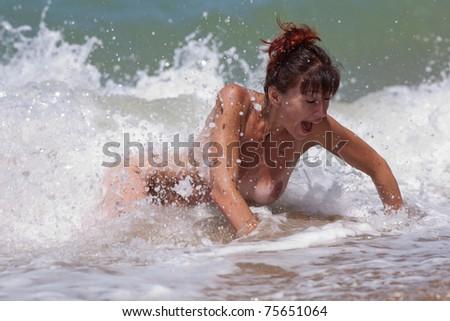 Water women naked #4