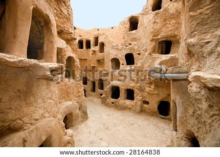 Nalut; Libya, Africa - stock photo
