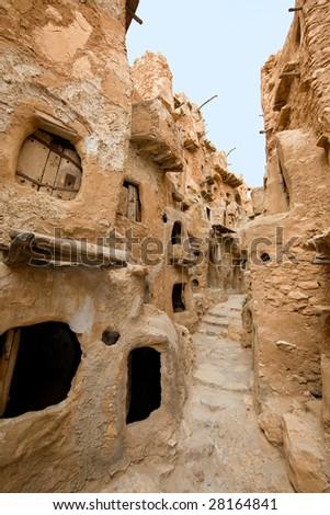 Nalut; Libya, Africa 2 - stock photo
