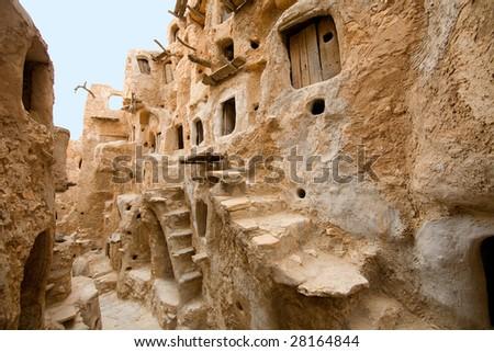 Nalut; Libya, Africa 3 - stock photo