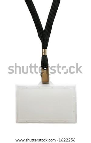 name tag - stock photo