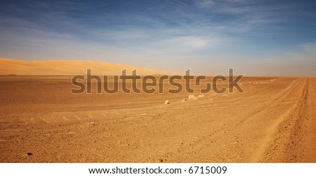 Namib Desert, Skeleton Coast, Namibia - stock photo