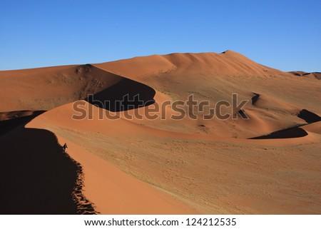 Namibia Namib Desert - stock photo