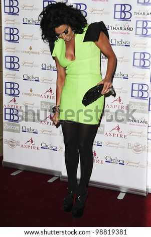Nancy Dell'Olio arriving for the National Luxury and Lifestyle Awards 2012 at Porchester Hall, London. 17/03/2012 Picture by: Steve Vas / Featureflash