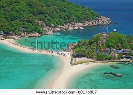 Nangyuan island,Thailand - stock photo
