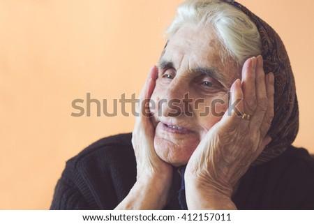 Nanny - stock photo