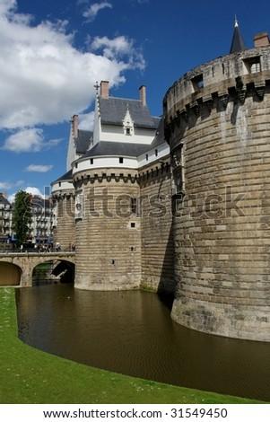 Nantes Castle II - stock photo