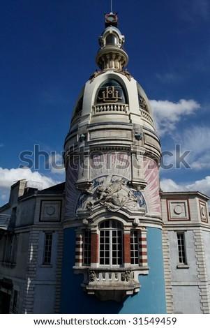 Nantes house - stock photo