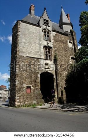Nantes Town Hall - stock photo