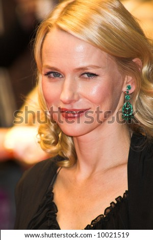Naomi Watts at the London Film Festival premiere of Funny Games in London - stock photo