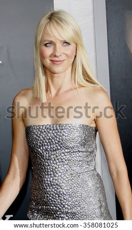 """Naomi Watts at the Los Angeles Premiere of """"Salt"""" held at the Grauman's Chinese Theater in Los Angeles, California, United States on July 19, 2010.   - stock photo"""