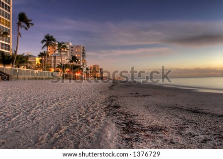 naples florida shoreline
