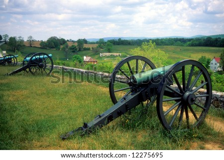 Napoleon artillery battery 		Antietam National Battlefield, American  Civil War,	Maryland