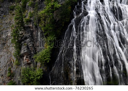 Narada Falls - stock photo